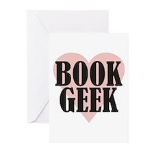 Book Geek Greeting Cards (Pk of 20)
