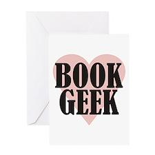 Book Geek Greeting Card