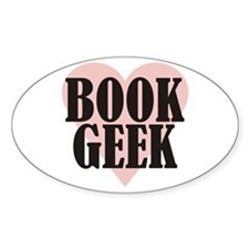 Book Geek Decal