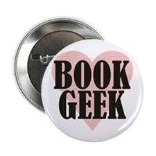 "Book Geek 2.25"" Button (10 pack)"