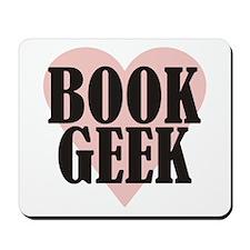 Book Geek Mousepad