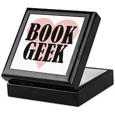 Book Geek Keepsake Box