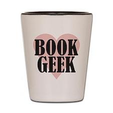 Book Geek Shot Glass