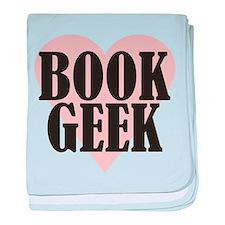 Book Geek baby blanket