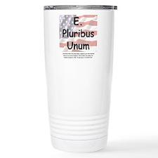 E. Pluribus Unum Travel Mug