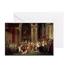 Coronation of Napoleon Greeting Card