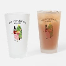 Funny Nutcracker ballet Drinking Glass