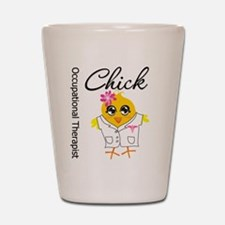 Occupational Therapist Chick Shot Glass