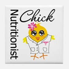 Nutritionist Chick Tile Coaster