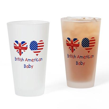 British American Baby Drinking Glass