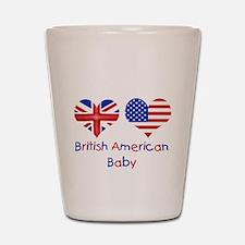 British American Baby Shot Glass