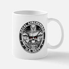 USN Naval Aircrewman AW Skull Mug