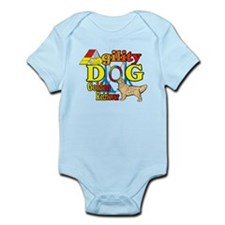 Golden Retriever Agility Infant Bodysuit