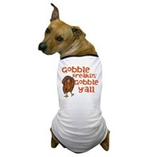 Gobble Y'all Dog T-Shirt