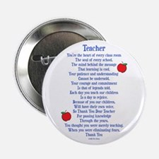 "Teacher Thank You 2.25"" Button"