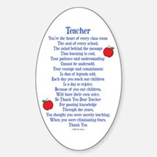 Teacher Thank You Decal