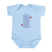 Teacher Thank You Infant Bodysuit