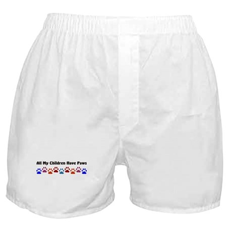 All My Children Have Paws 7 Boxer Shorts