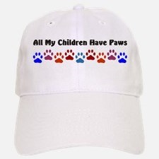All My Children Have Paws 7 Baseball Baseball Cap