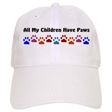 All My Children Have Paws 7 Baseball Cap