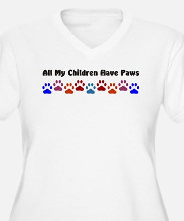 All My Children Have Paws 7 T-Shirt