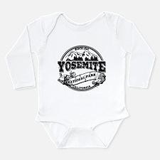 Yosemite Old Circle Long Sleeve Infant Bodysuit