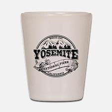 Yosemite Old Circle Shot Glass