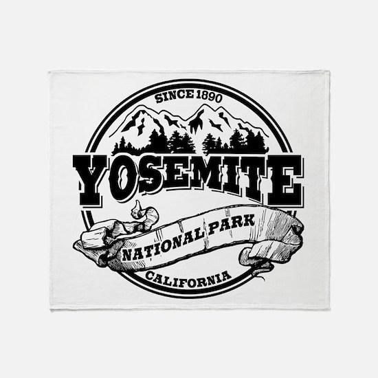 Yosemite Old Circle Throw Blanket