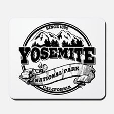 Yosemite Old Circle Mousepad