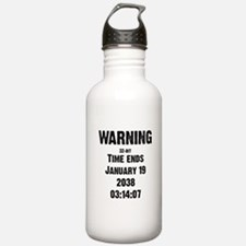 Unix End of Time Water Bottle