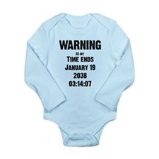Unix End of Time Long Sleeve Infant Bodysuit