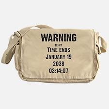 Unix End of Time Messenger Bag