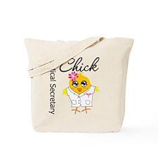 Medical Secretary Chick Tote Bag