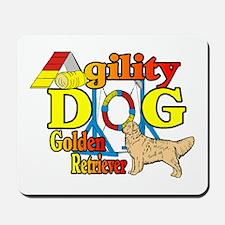 Golden Retriever Agility Mousepad