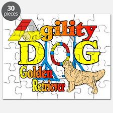 Golden Retriever Agility Puzzle
