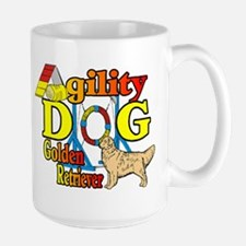 Golden Retriever Agility Mug