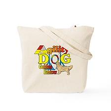 Golden Retriever Agility Tote Bag