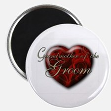 """Grandmother of the Groom 2.25"""" Magnet (10 pack)"""