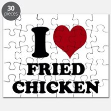 I Heart Fried Chicken Puzzle