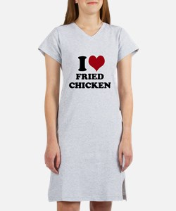 I Heart Fried Chicken Women's Nightshirt