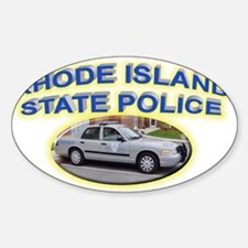 Rhode Island State Police Decal