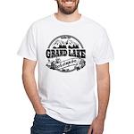 Grand Lake Old Circle White T-Shirt