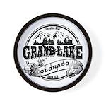 Grand Lake Old Circle Wall Clock