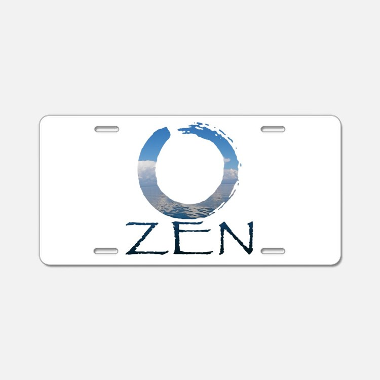 Cute Tibetan Aluminum License Plate