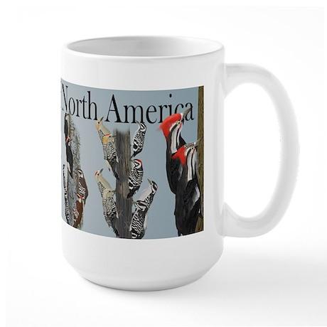 Woodpeckers of North America Large Mug