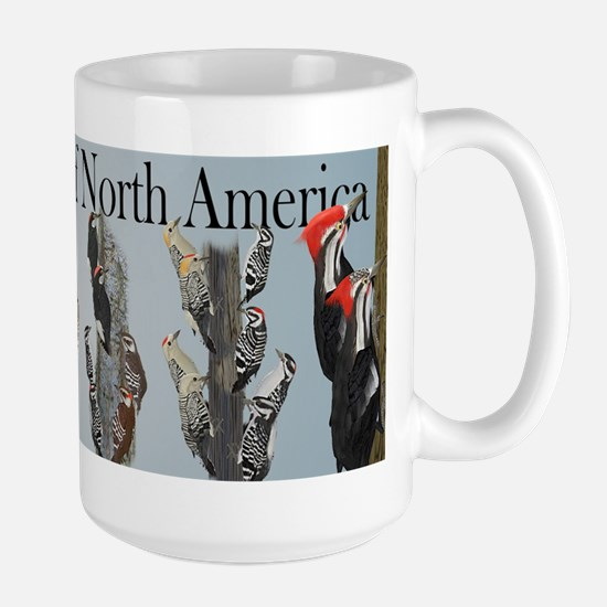 Woodpeckers of North America Large Mug
