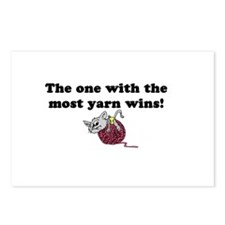 One with Most Yarn Postcards (Package of 8)