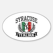 Syracuse Italian Decal