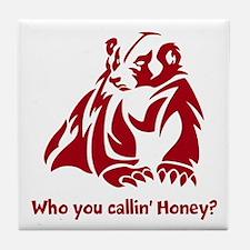 Honey Badger Tough Tile Coaster