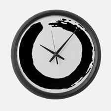 Cute Om Large Wall Clock